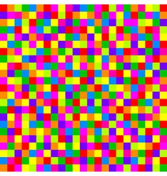 colorful checkered pattern vector image