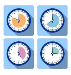 Set clock vector