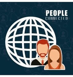 People icon design vector