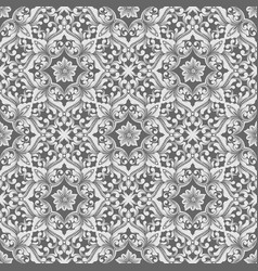 Zentangle seamless pattern background ethnic vector