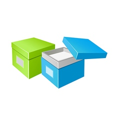 Icon boxes vector