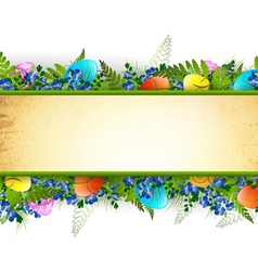 Easter Decorative Frame vector image