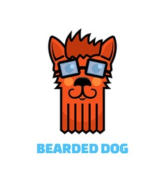 Dog grooming logo vector