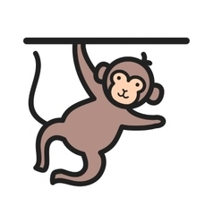 Monkey performing vector