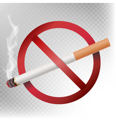 no smoking sign isolated on vector image