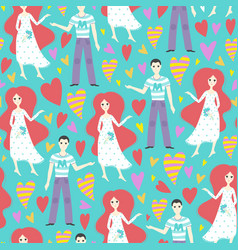 seamless creative pattern vector image vector image