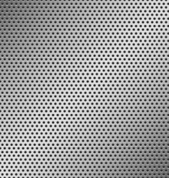 perforated metal pattern vector image