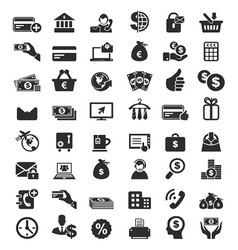 48 Business Icons vector image vector image