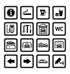 Service picograms vector