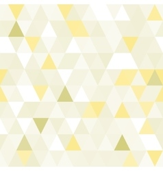 Triangular shape shimmering seamless pattern vector