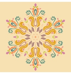 Oriental abstract pattern vector