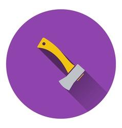 Icon of camping axe vector