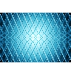 Blue tech stripes bright pattern background vector image