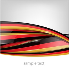 germany flag on background vector image