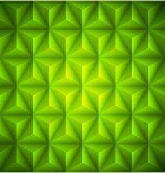 Green geometric abstract low-poly paper background vector