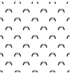 Taking photo with smartphone pattern simple style vector