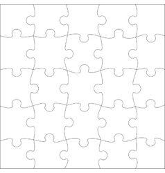 Complete puzzle vector