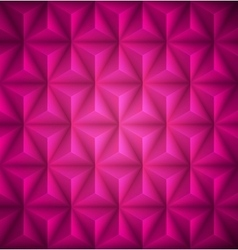 Pink geometric abstract low-poly paper background vector