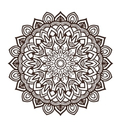 Mandala ornament vector