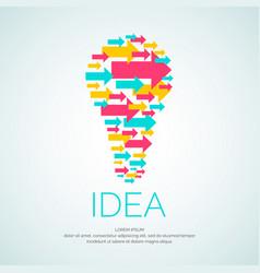 idea conceptual vector image vector image