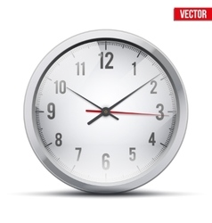 Office wall clock vector