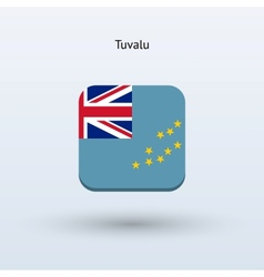 Tuvalu flag icon vector