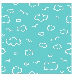 Heaven seamless pattern vector