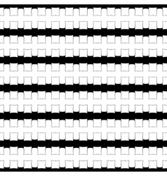 Black and white abstract geometric pattern vector image vector image