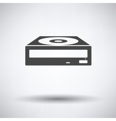 Cd-rom icon vector