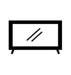 television plasma technology device object vector image