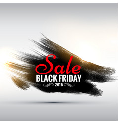 Abstract grunge style black friday sale poster vector