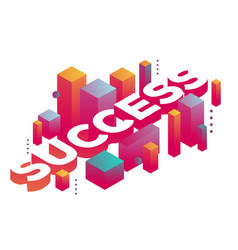 Three dimensional word success with abstract vector