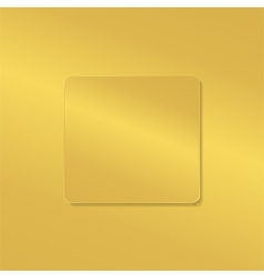 golden board vector image