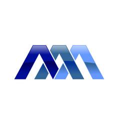Aaa initial symbol logo design vector