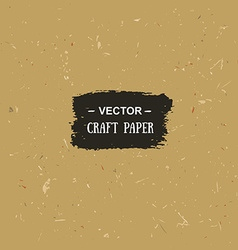 Cardboard texture craft paper for your design vector