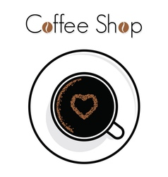Coffee time shop1 resize vector image