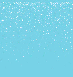 snow with snowflakes winter background for vector image