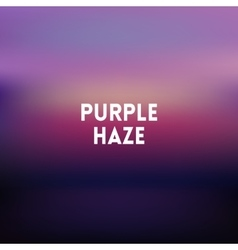 Square blurred lilac background - sunset colors vector