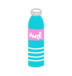 A water bottle vector