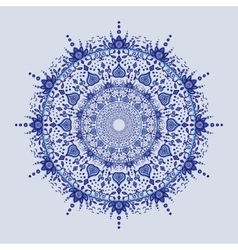 Asian mandala background vector