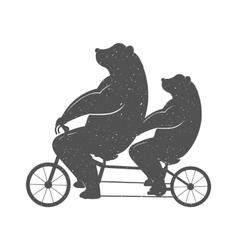 Fun bear vector