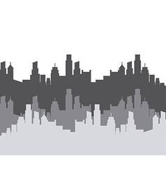 Cityscape background design vector