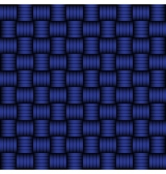 Blue and black geometric pattern vector image