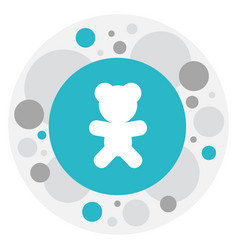of relatives symbol on teddy vector image