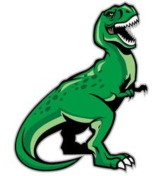 trex dinosaur vector image