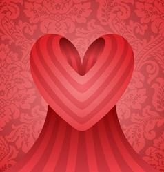 heart design vector image