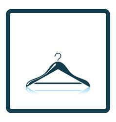 Cloth hanger icon vector