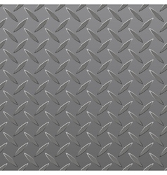 Diamond Plated Seamless metal sheet vector image vector image