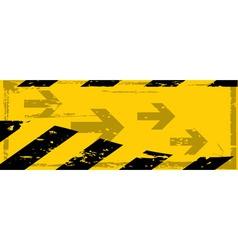 grunge danger banner vector image vector image