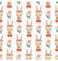 Lovely childish wallpaper in vector image